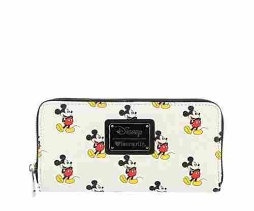 Mickey Mouse All Over Print Wallet