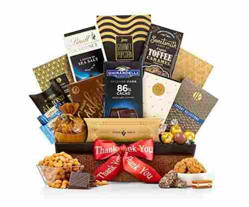 GiftTree Gourmet Chocolate & Snack Food Basket