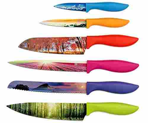 Kitchen Knife Set in Gift Box by Chef's Vision