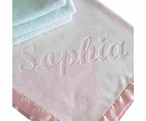 Personalized Baby Blankets: Write Something on It!
