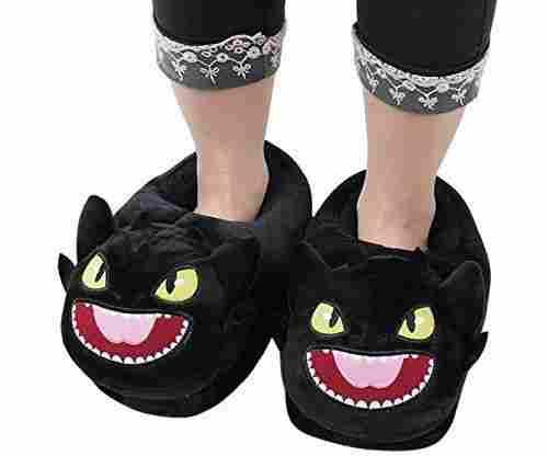 Fuzzy Unisex House Slippers