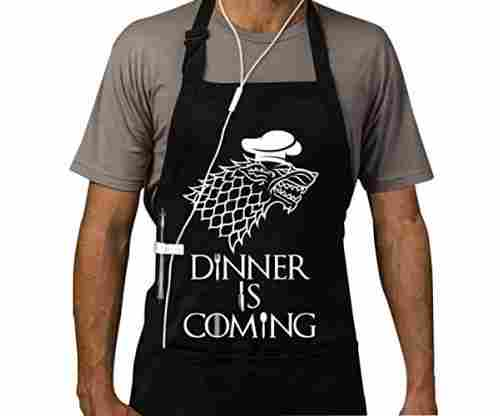 Famgem Grill Aprons – Dinner is Coming Apron