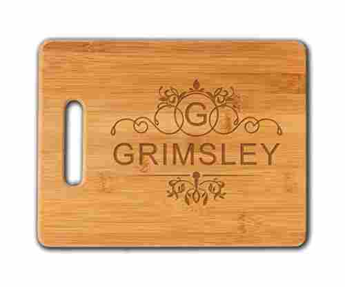 Personalized Cutting Board – Bamboo – With Engraved Monogram