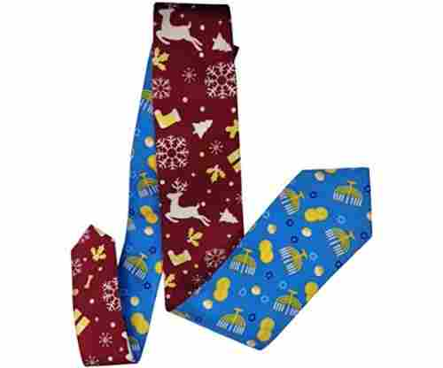 Christmas/Hanukkah Reversible Silk Tie
