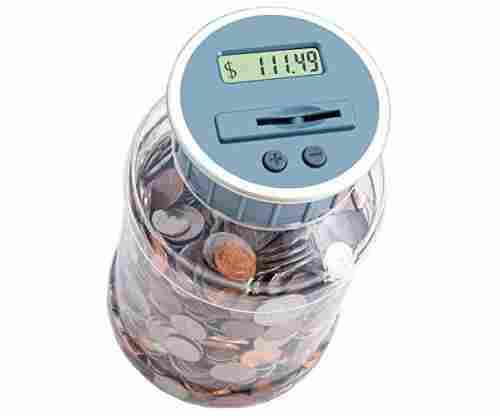 M&R Digital Counting Coin Bank