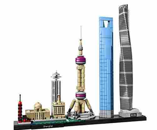 LEGO Architecture Shanghai 21039 Building Kit