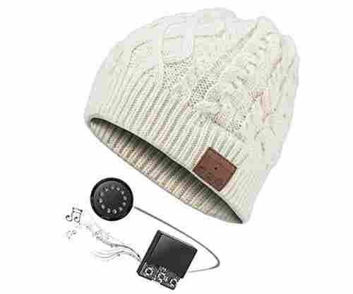 Zibaar Bluetooth Beanie Hat with V4.2 Bluetooth Headphone