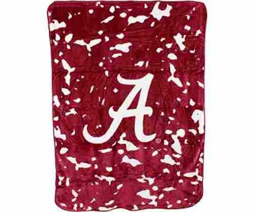 College Covers NCAA Alabama Throw Blanket