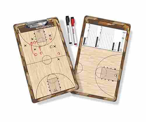 GoSports Coaches Boards – 2 Sided Premium Dry Erase Clipboards