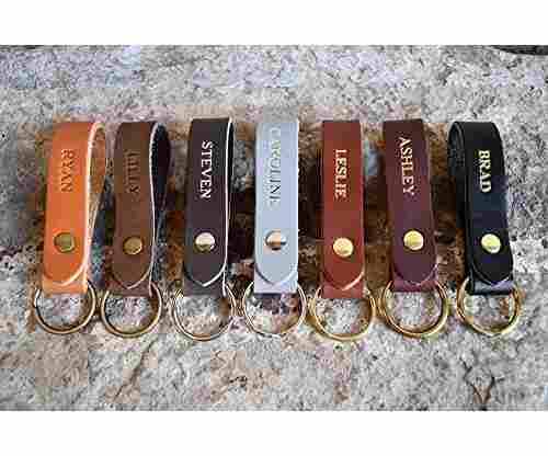 Northwind Supply Custom Leather Keychain
