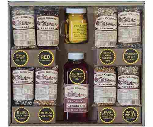 Amish Country Popcorn – 4 Ounce Variety Gift Set