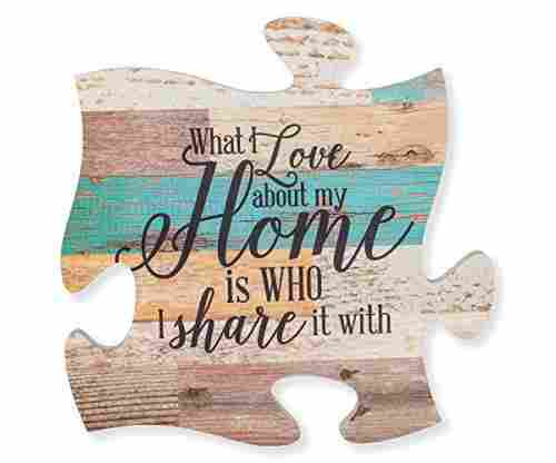 P Graham Dunn What I Love Wall Art Puzzle