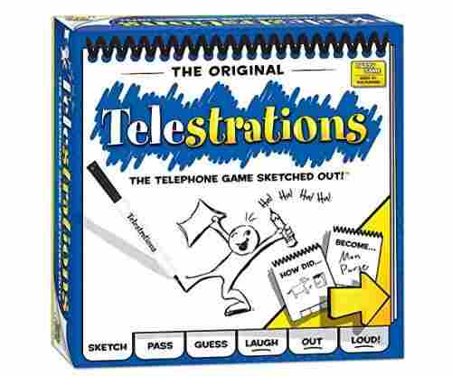 Telestrations: The 'Drawing' Version of the Telephone Game