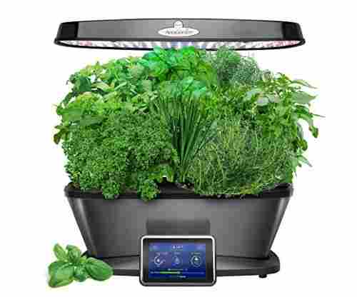 AeroGarden Bounty Elite with Gourmet Herb Seed Pod Kit