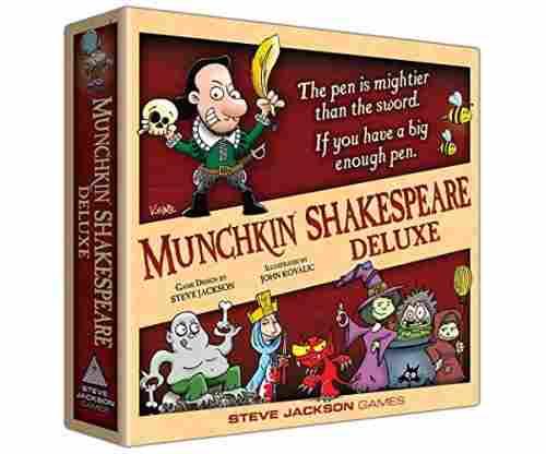 Munchkin Shakespeare Deluxe Game