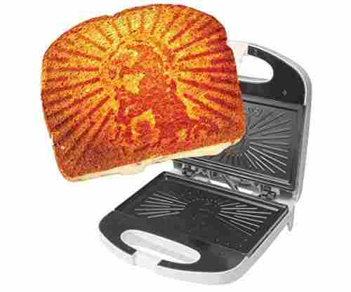The Grilled Cheesus Sandwich Press – Jesus in Toast Form