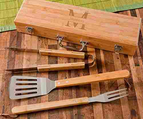 Personalized BBQ Grill Utensils