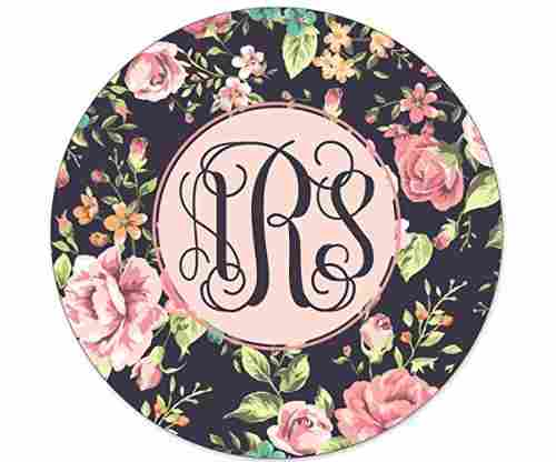 SimplyCustomized Monogrammed Mouse Pad
