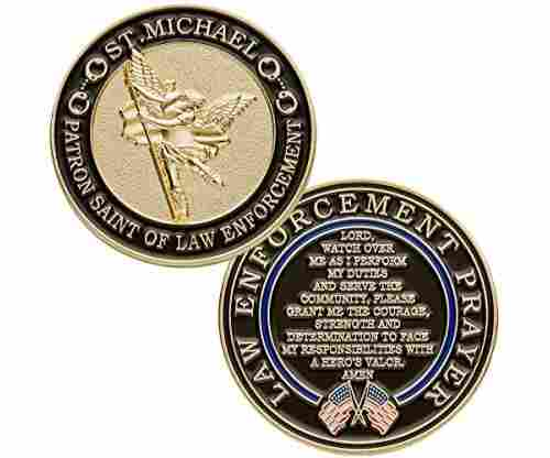 st michael patron saint of law enforcement - Christmas Gifts For Police Officers