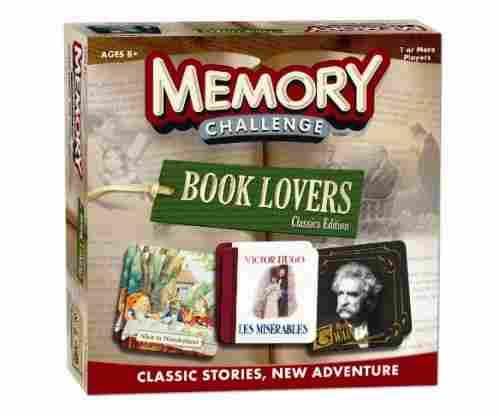 Memory Classic: Book Lover's Memory Game