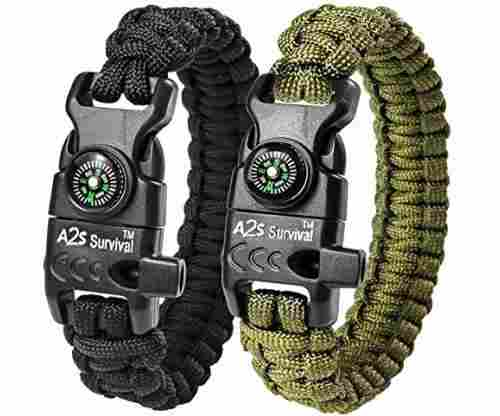 A2S Paracord Bracelet K2-Peak
