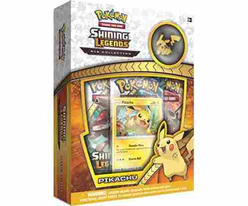 Pokémon Shining Legends Pikachu Pin Box