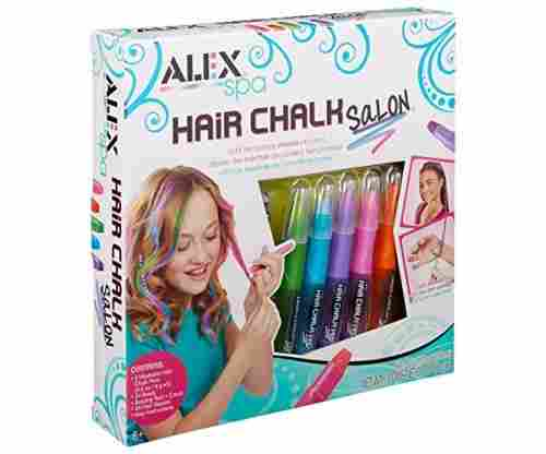 ALEX Spa Hair Chalks: Temporary Hair Colors For Kids!