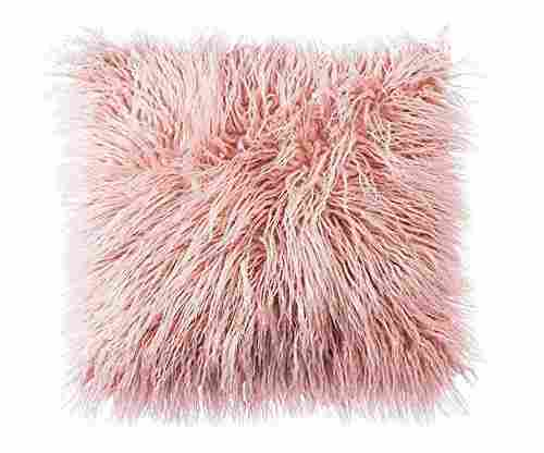 Decorative Faux Fur Pillow Cover