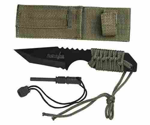 Survivor Fixed Blade Outdoor Knife