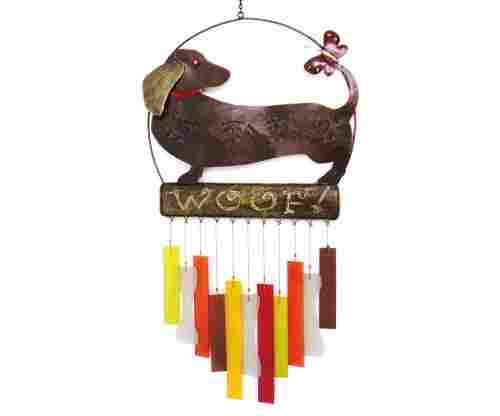 Gift Essentials Dachsie Woof Wind Chime