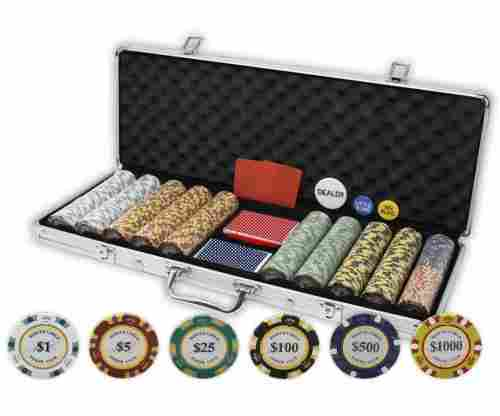 DA VINCI Monte Carlo Poker Set – 500 Pieces