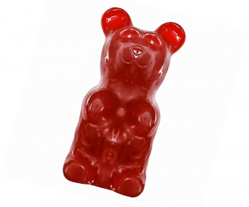 Giant Gummy Bear Approx 5 Pounds – Cherry Flavored Giant Gummy Bear