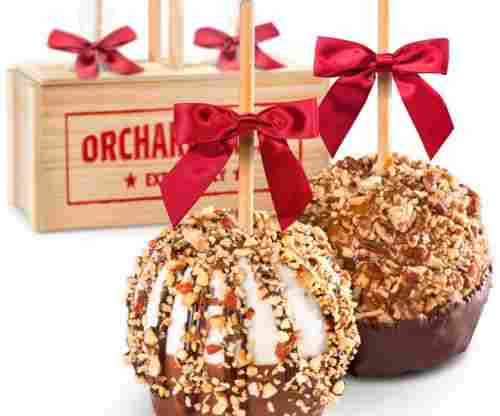 Milk and Dark Decadence – Chocolate Dipped Caramel Apples