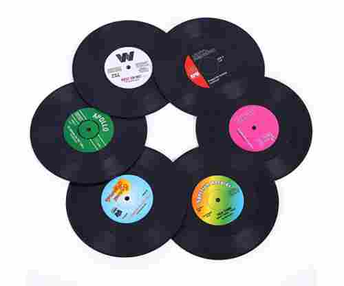 Ankzon Coasters – Retro Album Drink Coasters