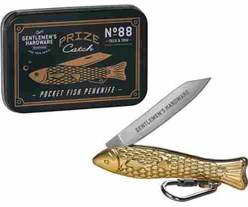 Gentlemen's Hardware Stainless Steel Fishing Pocket Penknife