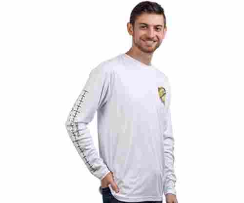Long Sleeve Wicking Fisherman Shirt w/Ruler on Forearm