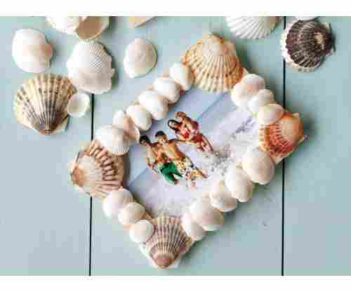 How to Make a Seashell Picture Frame: Tutorial