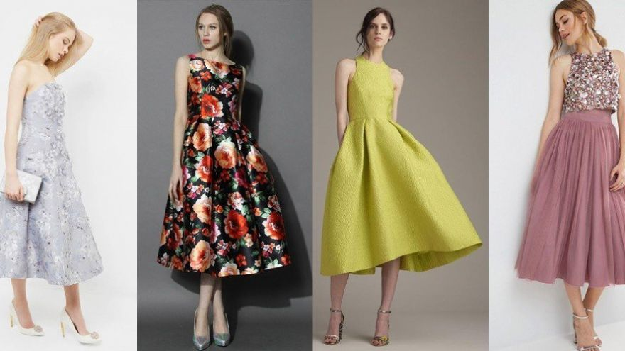 10 Tea Length Dresses we are Loving this Season!