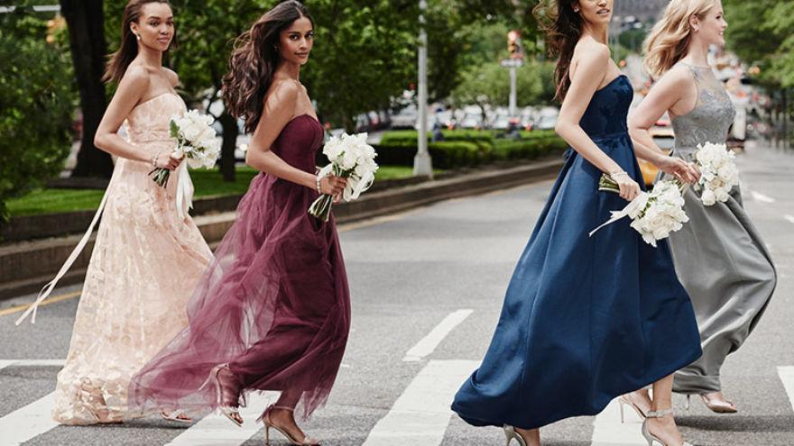 Rules to Follow When Choosing Bridesmaid Dresses
