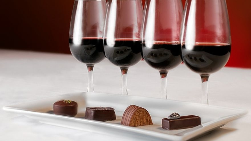 Chocolate and Wine to Make Your Date Night Extra boozy