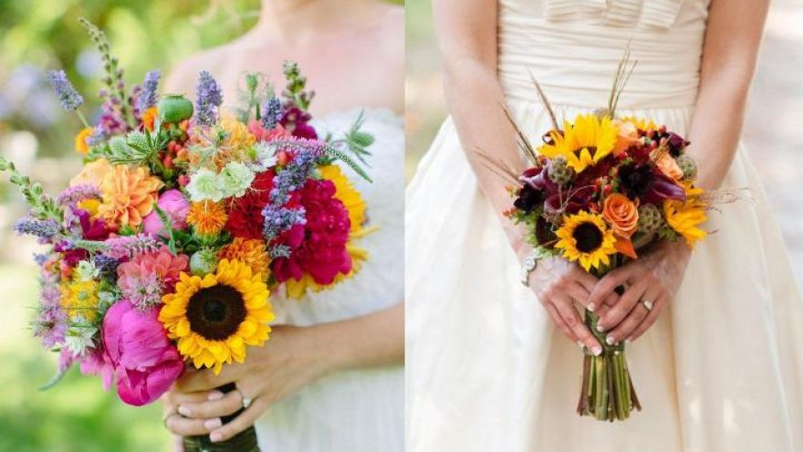 Fall Wedding Bouquet Ideas We Absolutely Love ! | ThatSweetGift