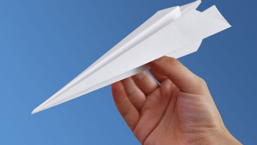 How to Make a Paper Airplane (Just for the Fun of It!)