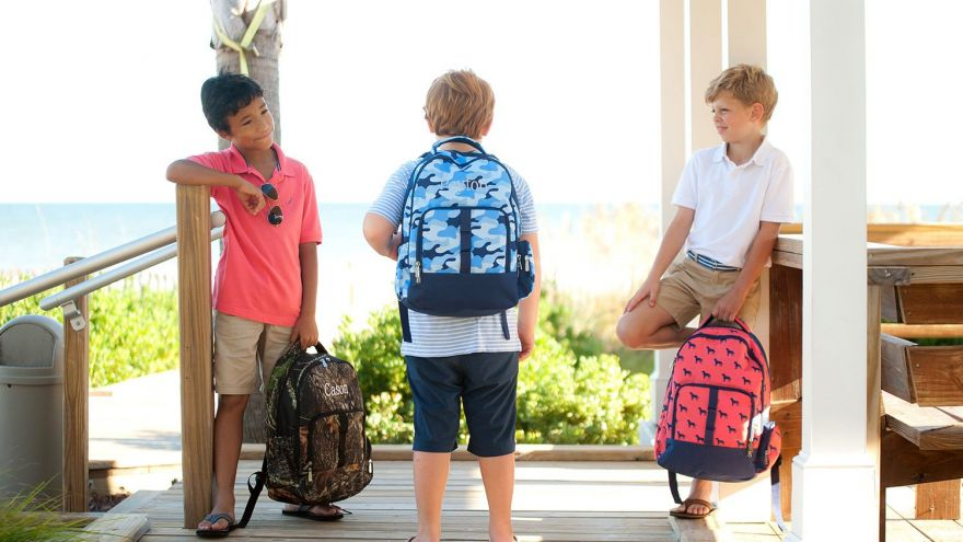 A Great School Gift That Your Kid Will Love? Check These 10 Monogrammed Backpacks!