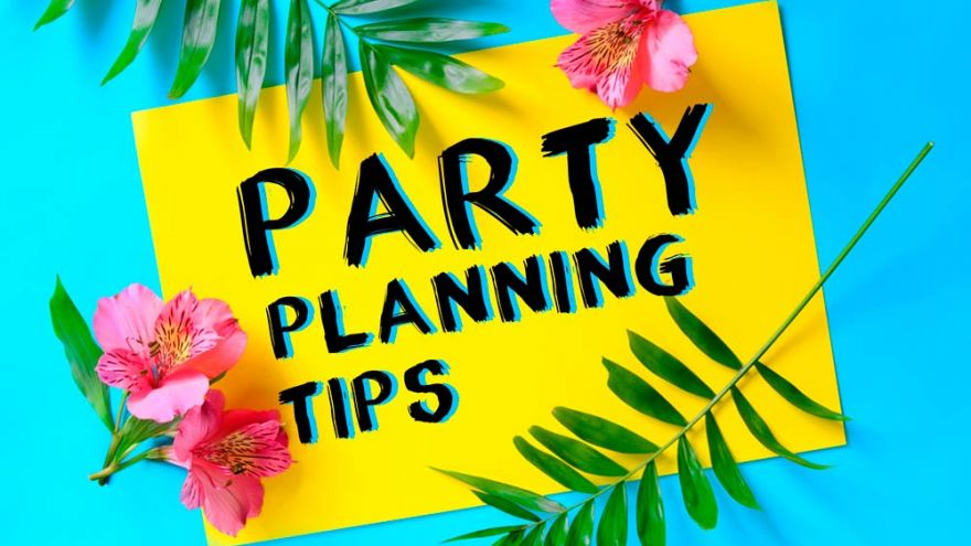 A Party Planning Checklist You Can Use For any Party You are Organizing