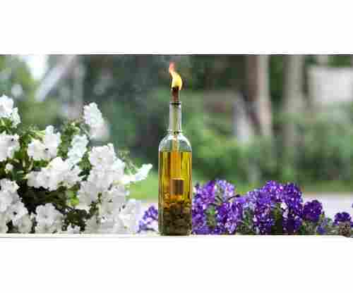 How to Make a Wine Bottle Tiki Torch Perfect for Garden Parties