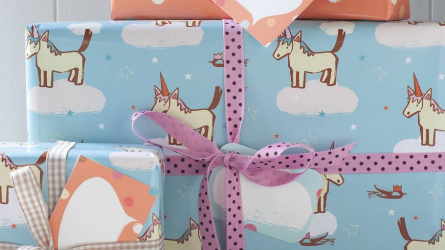 Our Favorite Wrapping Papers For a Kid's Gift!