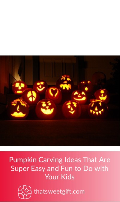 Pumpkin Carving Ideas Super Easy and Fun to Do